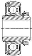 Шарикоподшипник радиальный однорядный 480200